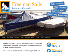 Tablet Preview of freemansails.co.uk